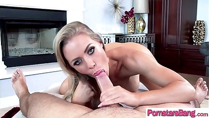 (Nicole Aniston) Pornstar Hungry For Huge Cock Play On Camera clip-10