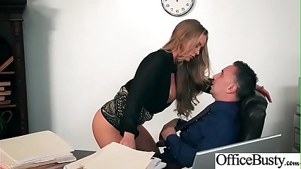 Office Sex With Sluty Big Juggs Teen Girl (Nicole Aniston) vid-22