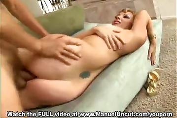 Adrianna Nicole gets pummeled and facialed