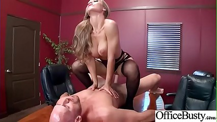 (Nicole Aniston) Busty Horny Slut Office Girl Enjoy Sex movie-18