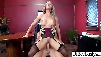 Sex In Office With Big Juggs Sluty Girl (Nicole Aniston) clip-20
