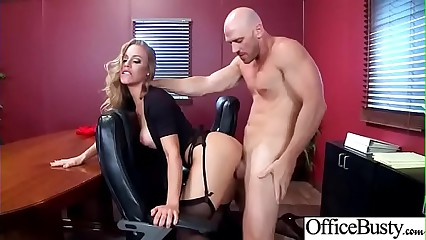(Nicole Aniston) Hot Office Girl With Big Boobs Love Hard Sex movie-21