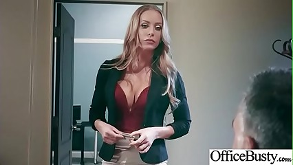 Office Sluty Girl (Nicole Aniston) With Big Round Boobs Banged Hard video-23