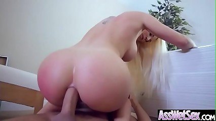 (Blanche Bradburry) Superb Sluty Girl With Big Butt Enjoy Anal Sex clip-10