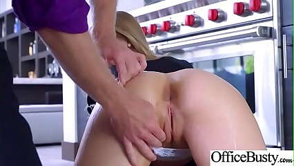 (Nicole Aniston) Big Boobs Office Girl Like Hardcore Bang At Work vid-22