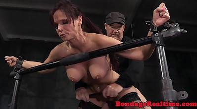 Submissive Syren De Mer spitroasted