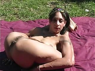 Sexy Nude Contortionist Jade
