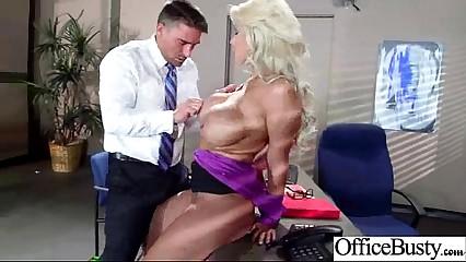 Slut Worker Girl (bridgette b) With Big Melon Tits Banged In Office mov-08