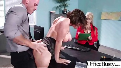 Horny Naughty Girl (krissy lynn) With Big Tits Get Sex In Office clip-21