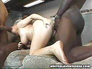 Black boss - white secretary 4