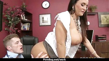 Hottest office fuck with busty chick 8