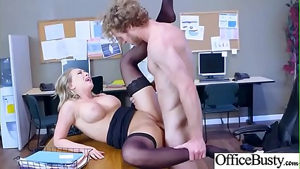 Horny Busty Girl (Kagney Linn Karter) In Hard Style Banged In Office video-13