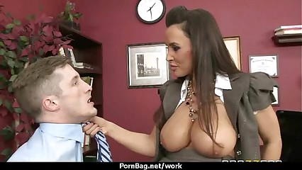 Hottest office fuck with busty chick 9