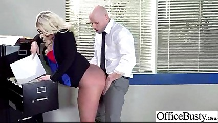 Horny Worker Girl With Big Tits Banged Hard Style In Office (julie cash) vid-13