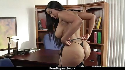 Big titted office MILF fucks at work 29