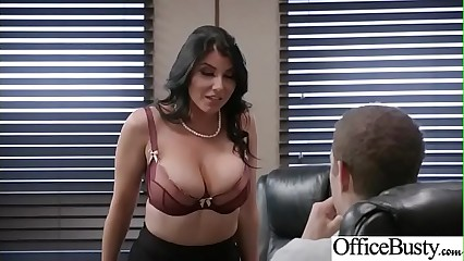 (Romi Rain) Big Tits Horny Office Girl Get Nailed Hardcore vid-26