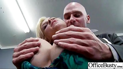 (sarah vandella) Sexy Girl With Big Boobs Banged In Office movie-27