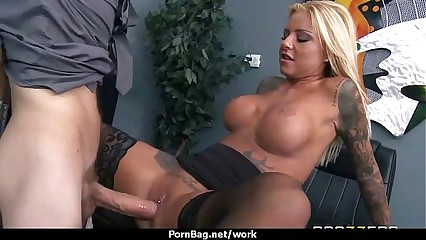 Office assistant getting fucked hard 25