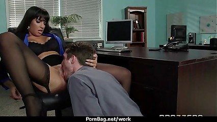 Office assistant getting fucked hard 5