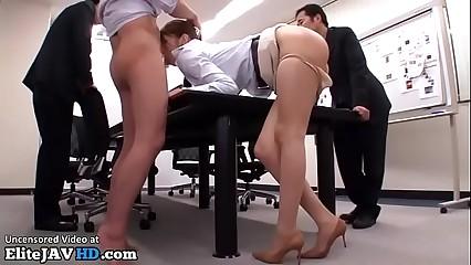 Jav office girl gangbang - Elitejavhd.com