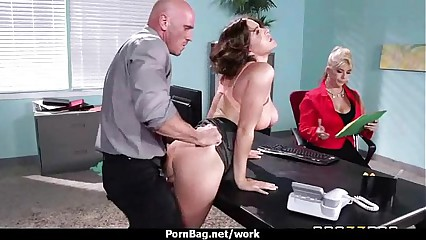Big Titted Babe Gets Fucked Hard in the Office 2