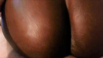 Ebony ass fucking me (Slow Motion of African French Ass)