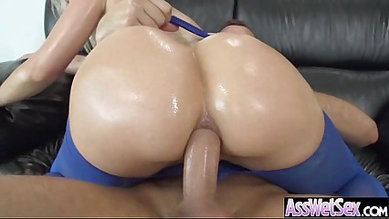 Big Ass Girl (anikka albrite) Get Oiled And Hard Anal Nailed On Camera movie-02