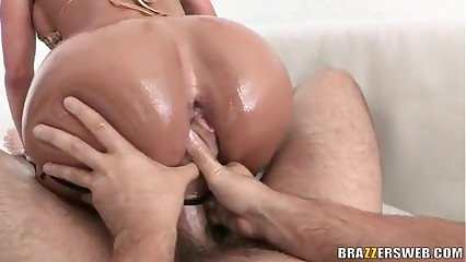 Anal slip and slide - Franceska Jaimes