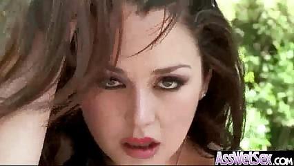 (allie haze) Big Oiled Butt Girl Enjoy Deep Anal Hard Sex Act mov-04