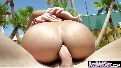 Big Booty Girl Get Oiled Then Hard Nailed In Ass video-09