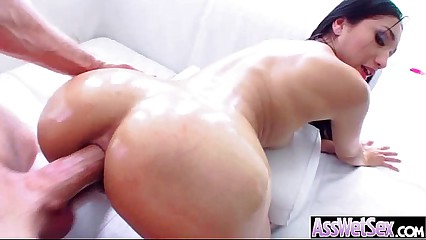 Anal Hard Sex With Big Oiled Wet Round Ass Girl (vicki chase) video-30