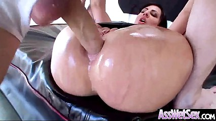 Hot Ass Girl Get Oiled All Up Then Hard Banged vid-07