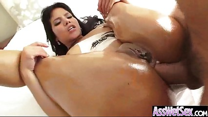 Girl With Oiled Wet Ass Get Her Butt Nailed Deep movie-21