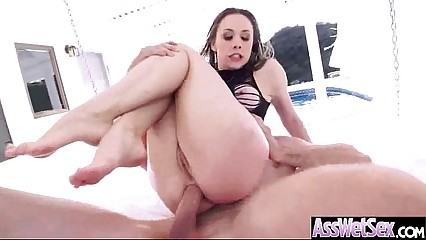 Anal Sex With Curvy Big Oiled Up Butt Girl (chanel preston) movie-06