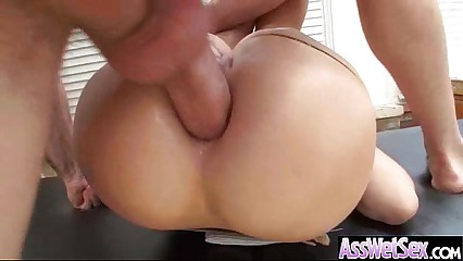 (london keyes) Big Ass Oiled Girl Take It Deep In Her Behind mov-24