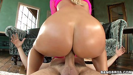 Perfect Oiled up Booty with Nicole Aniston
