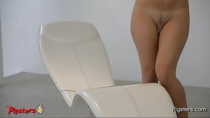 Incredible Big Pussy Masturbating to Orgasm with a Hitachi
