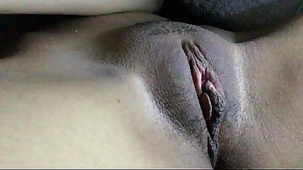 Rubbing my pussy to orgasm contraction.