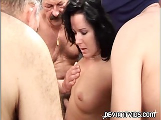 Orgy in the afternoon