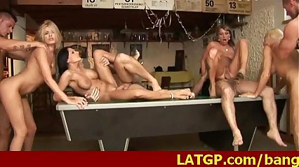 Pool Hall Orgy Junkies 5