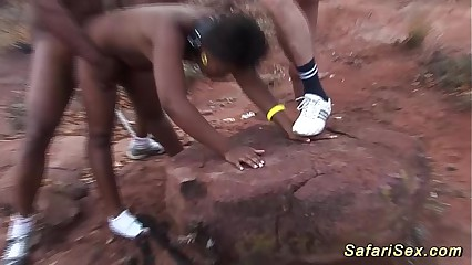 african safari sex orgy in nature