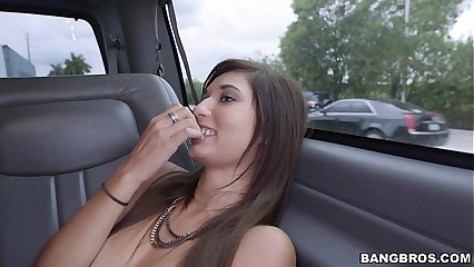 Petite Girl Drilled for Some Money