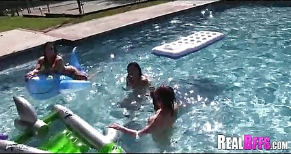 Pool party college orgy 127