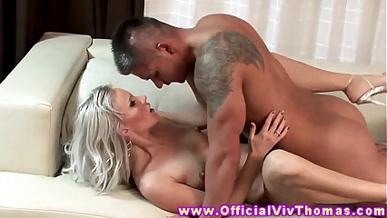 Bea Stiel model pussy pounded in couple by lucky guy