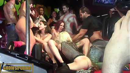 Spanish pornstars awesome orgy