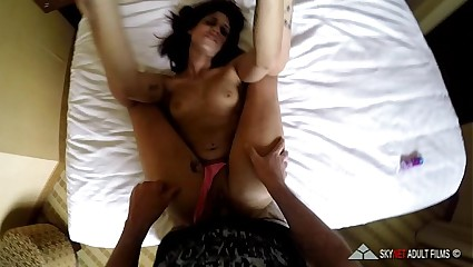 GoPorn POV Fuckfest 3: Angelina Ryder gets fucked