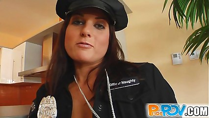 Pure Pov Kara cop cutie is arresting when she gets my dick