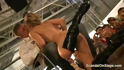extreme scandal sex shows in public