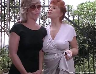 Kinky Classic Lesbians Tro Some Discipline