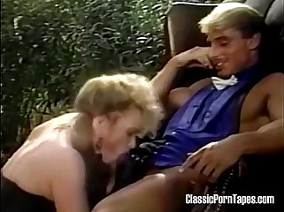 Retro mistress dominates